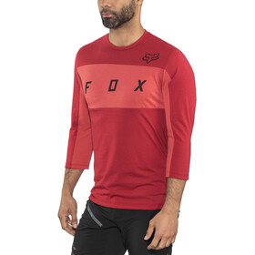 Fox Ranger Dri-Release 3/4 Arm Trikot Herren cardinal